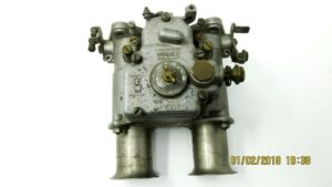 Fiat 2300 Ghia Coupe WEBER 38 DCOE Original Carburetor For Sale 003