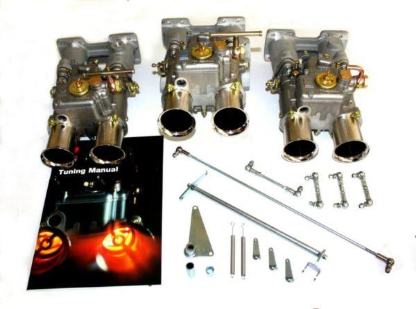 ASTON MARTIN DB4/DB5/DB6 6CYL ENGINE TRIPLE WEBER 45 DCOE CARBURETOR KIT