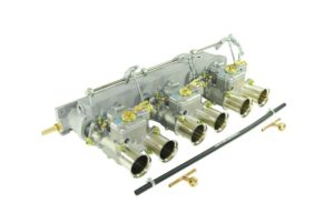 JAGUAR 3.8 / 4.2 ΚΙΝΗΤΗΡΑΣ E-TYPE 6CYL ΤΡΙΠΛΟ WEBER 45 DCOE CARBURETOR KIT