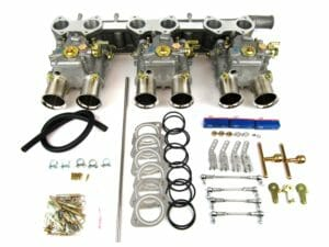 CLASSIC JAGUAR XK120 / 150 TRIPLE WEBER 45 DCOE CARBURETTOR CONVERSION KIT