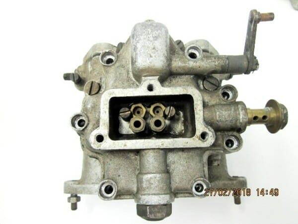 Vintage WEBER 40 DCO3 Sandcast Carburettors (PAIR) For Sale