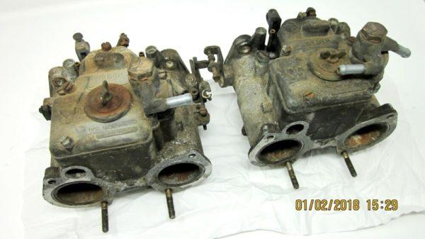 WEBER 40 DCOM 4-5 Alfa Romeo Carburettors 001 (1)