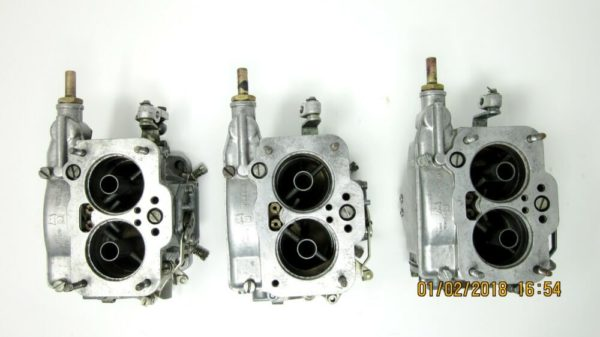 WEBER 42 DCNF 31-31-32 CARBURETTORS MASERATI MERAK 3000/FORD ESSEX V6 ENGINE