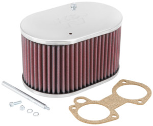K&N AIR FILTER WEBER DCOE / DELLORTO DHLA&SOLEX ADDHE CARBS