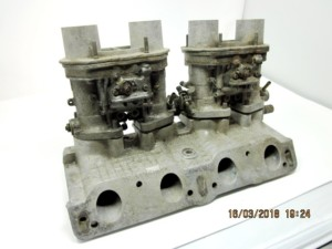 WEBER 40 IDF 13 / 15 CARBURATEURS & MANIFOLD 1970 FIAT 124 SPORT