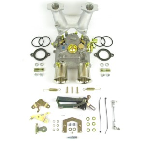 WEBER 45DCOE KARBURETATOR & MANIFOLD KIT BMC A-SERIES ENGINE (Mini)
