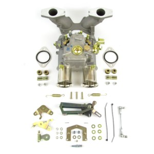 TWIN WEBER 45 DCOE CARBURETTOR KIT FOR MGB 1800 B-SERIES ENGINE