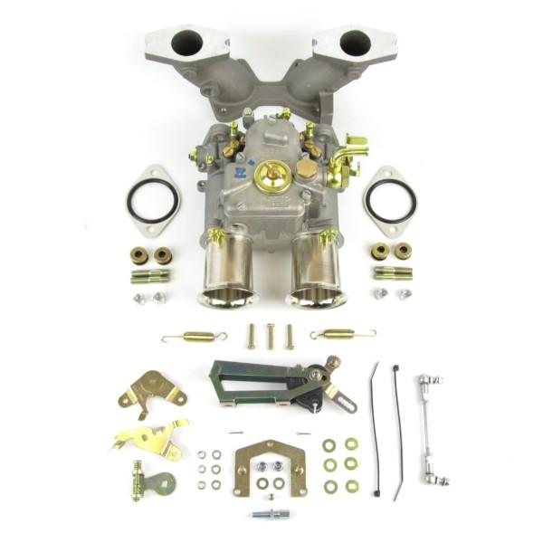 TWIN WEBER 45 DCOE CARBURETTOR KIT FOR MGB 1800 B-SERIES ENGINE