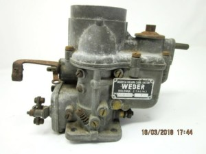 WEBER 24 / 30 DCLC 7-CARBURETTOR DE KAJ KITELO DS-19 CAR