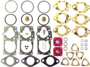 SOLEX / PIERBURG 34 PDSIT CARBURETTOR POST / SERVICE REBUILD KIT (PAIR)