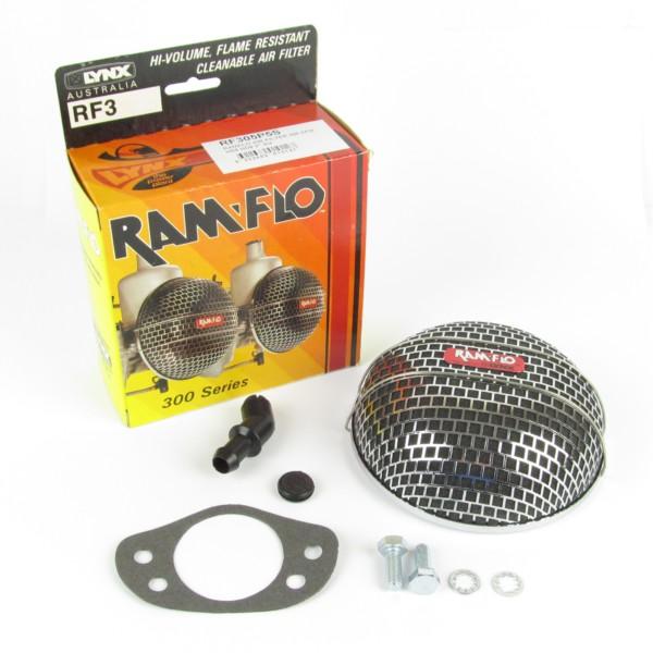 "LYNX RAMFLO AIR FILTER / PUHASTUS SU H8 / HS8 & HD8 2 ""CARBURETTOR"