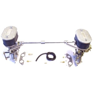 VW TYPE 4 DELLORTO FRDA 36 TWIN CARBURETTOR & MANIFOLD KIT (CB)
