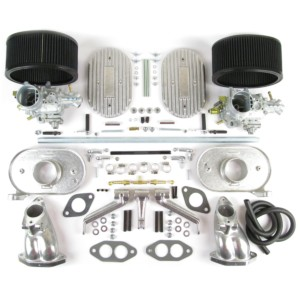 VW AIR-COOLED TYPE1 DUAL PORT WEBER 34 ICT KARBURATTERSKI KIT (CB)