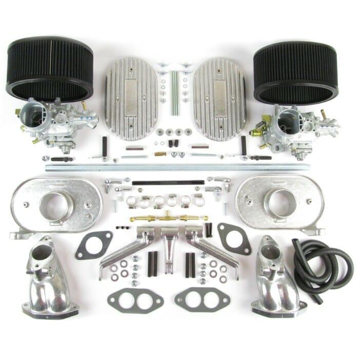 VW AIR-COOLED TYPE1 DUAL PORT WEBER 34 ICT CARBURETTOR KIT (CB)