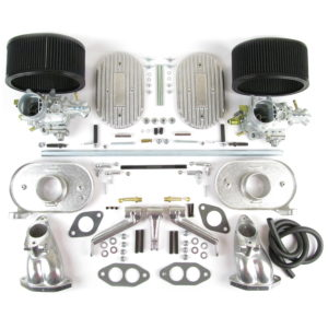 VW AIR-COOLED TYPE1 DUAL PORT WEBER 34 ICT CARBURETTOR KIT (CB)