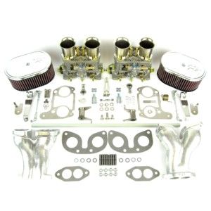 VW TYPE 1 AIRCOOLED ENGINE WEBER IDF 44 CARBURETTOR & MANIFOLD KIT (CSP)