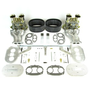VW TIPO 1 AIRCOOLED ENGINE WEBER IDF 44 CARBURETTOR & MANIFOLD KIT (CB)
