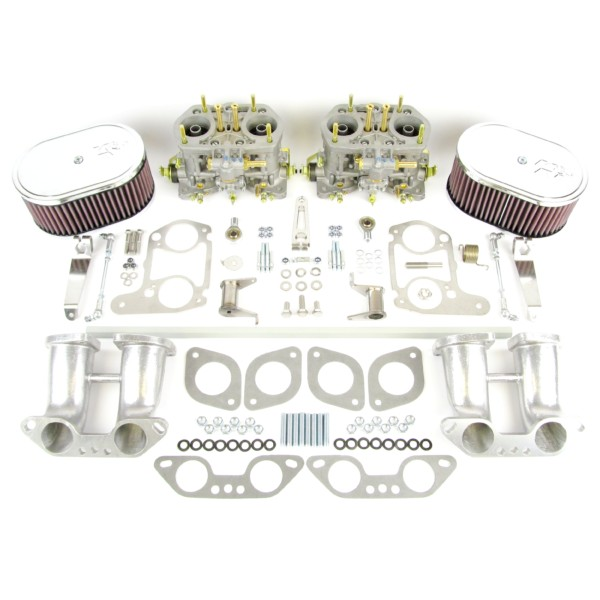 VW TYPE 4 AIRCOOLED ENGINE WEBER IDF 40 CARBURETTOR & MANIFOLD KIT (K&N)