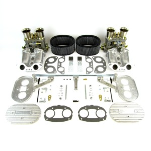 VW TYPE 4 AIRCOOLED ENGINE WEBER IDF 44 CARBURETTOR & MANIFOLD KIT (CB)