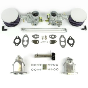 VW AIRCOOLED TYPE 1 ENGINE DUAL WEBER 34 ICT CARBURETTOR KIT (CSP)