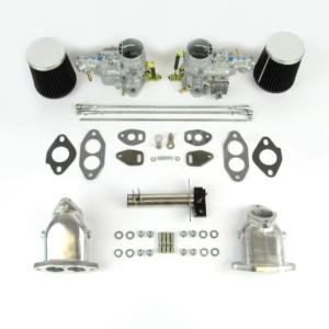VW AIRCOOLED TYPE 1 ENGINE DUAL WEBER 34 ICT CARBURETTOR KIT (CSP)