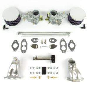 VW TYPE 1 AIRCOOLED ENGINE WEBER 34 IKT CARBURETTOR & MANIFOLD KIT (CSP)