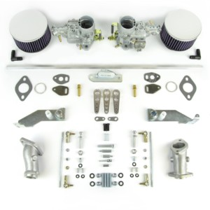VW TYPE 1-AIRCOOLED-ENGINE-WEBER-34-TIC-CARBURETTOR & MANIFOLD KIT (HEX)