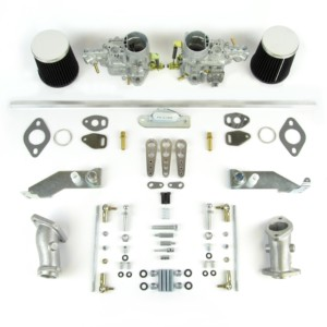 VW TYPE 1 AIRCOOLED ENGINE WEBER 34 ICT CARBURETTOR & MANIFOLD KIT (HEX)