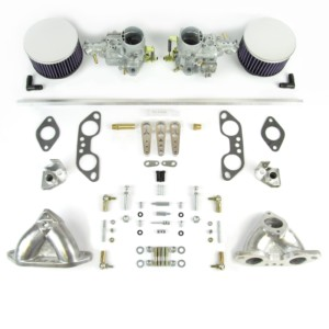 VW Aircooled Тып рухавіка 4 TWIN WEBER 34 ICT Карбюратар KIT 1700-2000cc