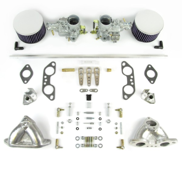 VW AIRCOOLED TIP 4 MOTOR TWIN WEBER 34 ICT KARBURATER KIT 1700-2000cc