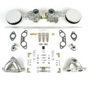 VW AIRCOOLED TYPE 4 ENGINE TWIN WEBER 34 ICT CARBURETTOR KIT 1700-2000cc