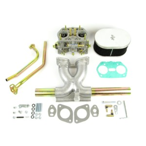 AIRCOOLED VW T1 / TYPE1-VIAJ IDF 40 CARBURETTOR & MANIFOLD KIT