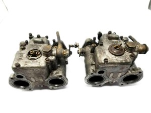 GENUINE WEBER 40 DCOE 4 CARBURETORS ALFA ROMEO GIULIA SPRINT GT