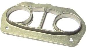 WEBER IDF 40 CARBURETTOR CAST ALUMINIUM AIR HORN / TRUMPET PLATE