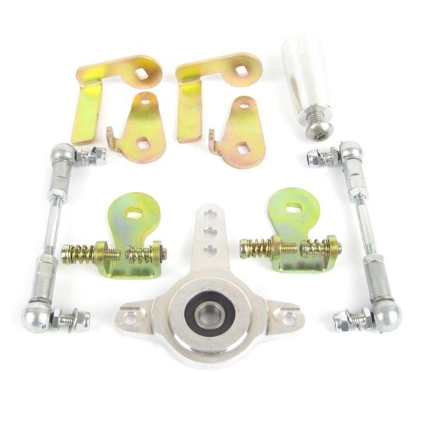 פורד / CLEVELAND / CHVVROLET V8 מנוע WEBER 48 IDA THROTTLE LINKAGE קיט