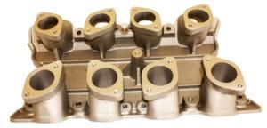 WEBER 48 IDA CARBURETTOR INTAKE MANIFOLD FOR 351 CLEVELAND V8 ENGINE