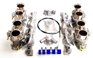 ROVER 3.5/3.9 V8 ENGINE WEBER 44 IDF CARBURETTOR & MANIFOLD KIT