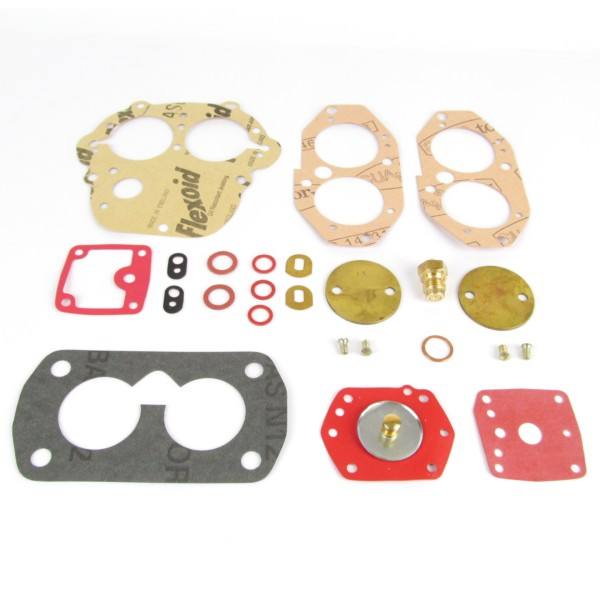 SSGLOVELIN Riparazione Kit Guarnizione Kit di Riparazione Guarnizione Adatta per Solex Servizio Guarnizione Kit Repair Adatta per VW Beetle 28//30//31//34 Pict Carburator Kit
