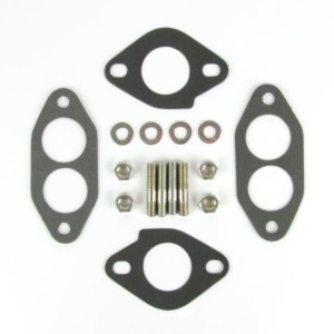 WEBER T1FK VW TIPO 1 KICO CARBURETTOR MANIFOLD GASKET AND STUD KIT