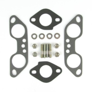 WEBER T4FK VW TYPE 4 WEBER ICT CARBURETTOR MANIFOLD GASKET AND STUD KIT