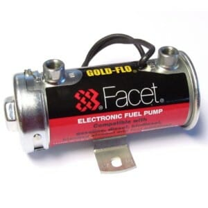 FACET GOLD-FLO ELECTRIC 24-VOLT (24V) FUELA PUMPO DE MILITARIA / MARINEO / AGRICULTURO / INDUSTRIA