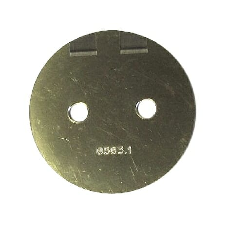 DELLORTO DHLA / DRLA 48 CARBURETTOR THROTTLE VALVE / BUTTERFLY DISC
