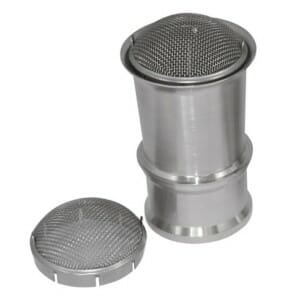 WEBER 48 IDA & 48 DCO / SP CARBURETTOR TRUMPET GAUZE / FILTER (PAIR)