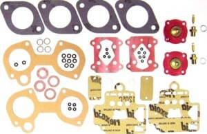 DELLORTO DHLA 40 CARBURETTOR BUDGET GASKET / SERVICE KIT FOR TWO CARBURETTORS