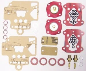 DELLORTO DHLA 45 CARBURETTOR GASKET/SERVICE KIT FOR TWO CARBS (BUDGET)