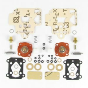 DELLORTO DHLA 40 CARBURETTOR SERVICE KIT FOR 2 CARBS (DHLA TYPES H, L, N, & R)