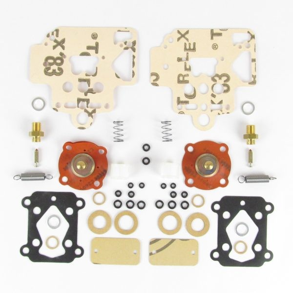 DELLORTO DHLA 40 CARBURETTOR SERVICE KIT ЗА 2 CARBS (DHLA TYPES H, L, N, & R)