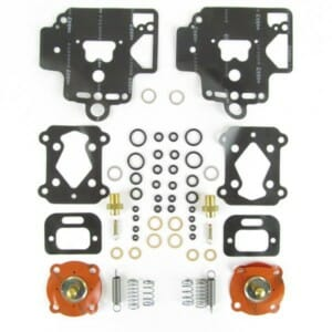 DELLORTO DHLA 40 & 45 SERVICE / PAKKINGSET LOTUS ESPRIT TURBO (VOOR 2 CARBURATEURS)