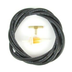 Вебера / Dellorto / SOLEX Карбюратар 3 лічыльнік паліўны шланг / LINE KIT (8MM саюза)