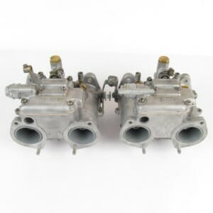 Äkta DELLORTO DHLA 40 CARBURETTORS (RECONDITIONED PAIR)